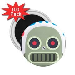 Robot Emoji 2.25  Magnets (100 pack)