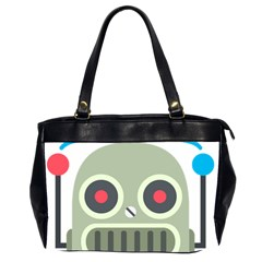 Robot Emoji Office Handbags (2 Sides)