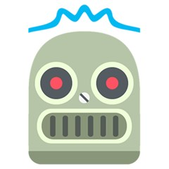 Robot Emoji 5.5  x 8.5  Notebooks