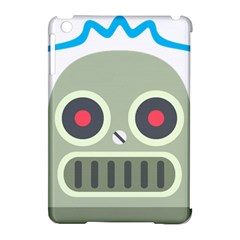 Robot Emoji Apple iPad Mini Hardshell Case (Compatible with Smart Cover)