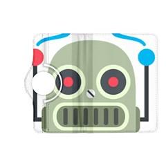 Robot Emoji Kindle Fire HD (2013) Flip 360 Case