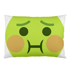 Barf Emoji Pillow Case