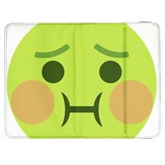 Barf Emoji Samsung Galaxy Tab 7  P1000 Flip Case