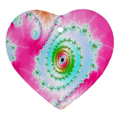Decorative Fractal Spiral Ornament (Heart)