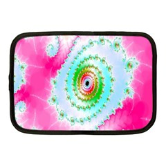 Decorative Fractal Spiral Netbook Case (Medium)