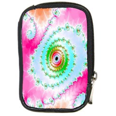 Decorative Fractal Spiral Compact Camera Cases