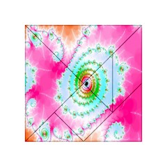 Decorative Fractal Spiral Acrylic Tangram Puzzle (4  x 4 )