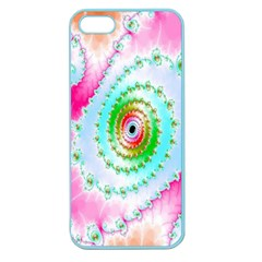 Decorative Fractal Spiral Apple Seamless Iphone 5 Case (color)