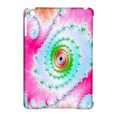 Decorative Fractal Spiral Apple iPad Mini Hardshell Case (Compatible with Smart Cover)