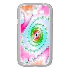 Decorative Fractal Spiral Samsung Galaxy Grand Duos I9082 Case (white)