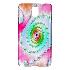 Decorative Fractal Spiral Samsung Galaxy Note 3 N9005 Hardshell Case