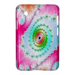 Decorative Fractal Spiral Samsung Galaxy Tab 2 (7 ) P3100 Hardshell Case