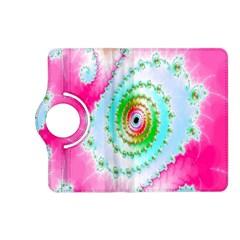 Decorative Fractal Spiral Kindle Fire Hd (2013) Flip 360 Case