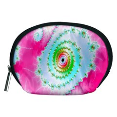 Decorative Fractal Spiral Accessory Pouches (Medium)