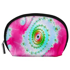 Decorative Fractal Spiral Accessory Pouches (Large)