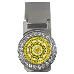 Fractal Flower Money Clips (CZ)