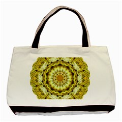 Fractal Flower Basic Tote Bag (Two Sides)