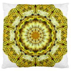 Fractal Flower Large Cushion Case (One Side)