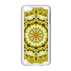 Fractal Flower Apple iPod Touch 5 Case (White)