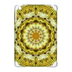 Fractal Flower Apple Ipad Mini Hardshell Case (compatible With Smart Cover)