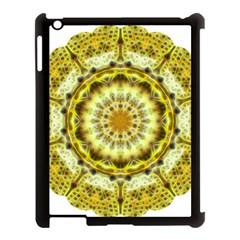Fractal Flower Apple iPad 3/4 Case (Black)