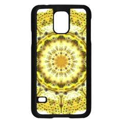 Fractal Flower Samsung Galaxy S5 Case (Black)