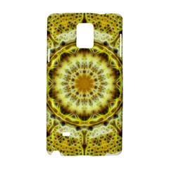 Fractal Flower Samsung Galaxy Note 4 Hardshell Case