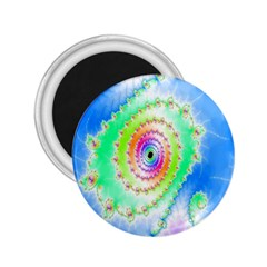 Decorative Fractal Spiral 2.25  Magnets