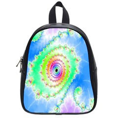 Decorative Fractal Spiral School Bags (small)