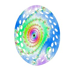 Decorative Fractal Spiral Ornament (oval Filigree)