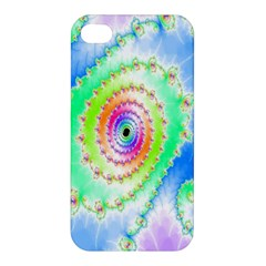 Decorative Fractal Spiral Apple iPhone 4/4S Hardshell Case