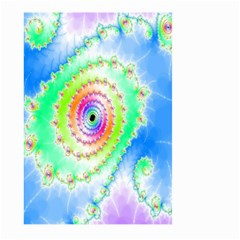 Decorative Fractal Spiral Large Garden Flag (Two Sides)