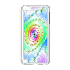 Decorative Fractal Spiral Apple iPod Touch 5 Case (White)