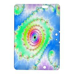 Decorative Fractal Spiral Kindle Fire HDX 8.9  Hardshell Case