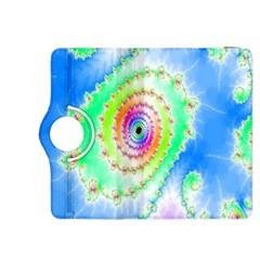 Decorative Fractal Spiral Kindle Fire Hdx 8 9  Flip 360 Case