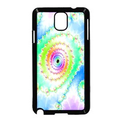 Decorative Fractal Spiral Samsung Galaxy Note 3 Neo Hardshell Case (Black)