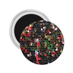 Colorful Abstract Background 2.25  Magnets