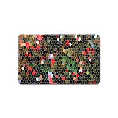 Colorful Abstract Background Magnet (name Card)