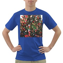 Colorful Abstract Background Dark T-Shirt