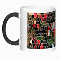 Colorful Abstract Background Morph Mugs