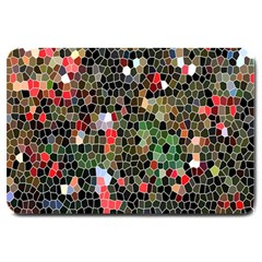 Colorful Abstract Background Large Doormat