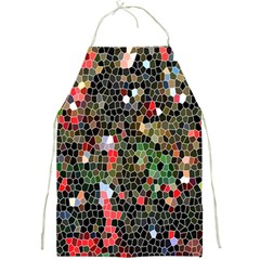 Colorful Abstract Background Full Print Aprons