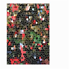 Colorful Abstract Background Large Garden Flag (Two Sides)