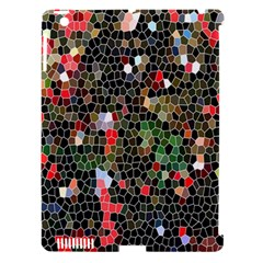 Colorful Abstract Background Apple iPad 3/4 Hardshell Case (Compatible with Smart Cover)