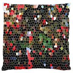 Colorful Abstract Background Large Cushion Case (Two Sides)