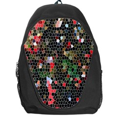 Colorful Abstract Background Backpack Bag