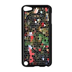 Colorful Abstract Background Apple iPod Touch 5 Case (Black)