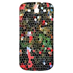 Colorful Abstract Background Samsung Galaxy S3 S III Classic Hardshell Back Case