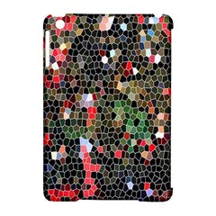 Colorful Abstract Background Apple iPad Mini Hardshell Case (Compatible with Smart Cover)