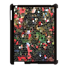 Colorful Abstract Background Apple iPad 3/4 Case (Black)